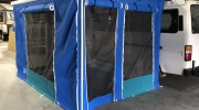 Walls  for roll out awning