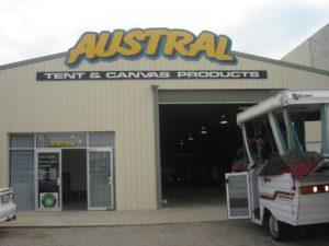 Austral Canvas shop front