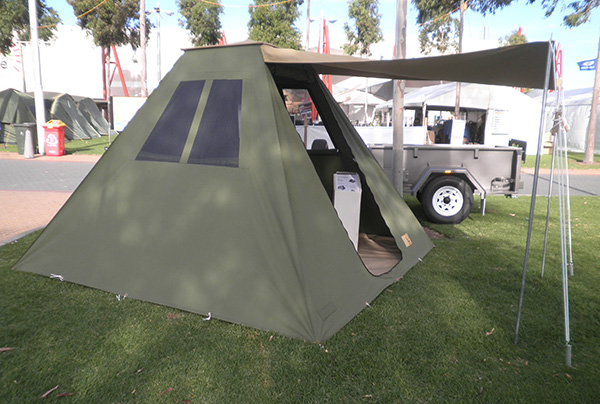 Bus Tent