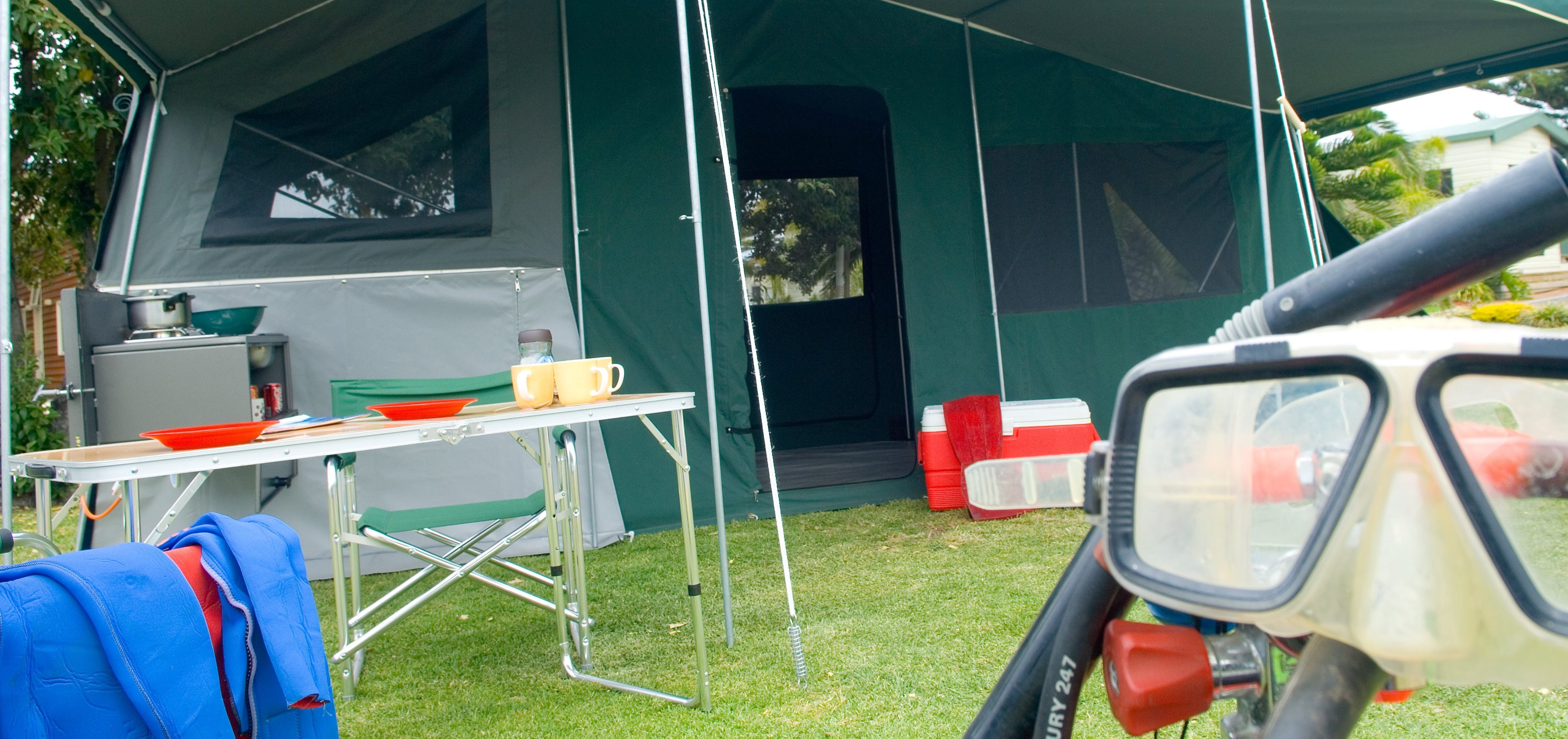 Camper Trailer Canvas