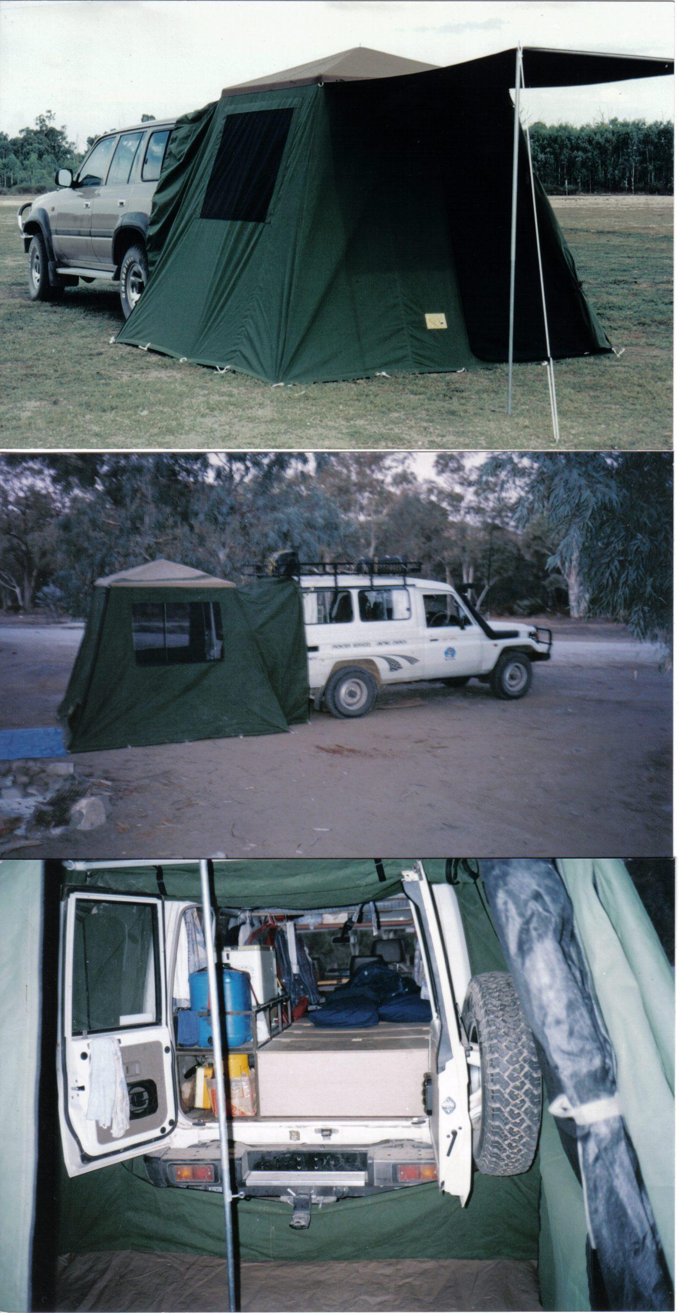 Wire Frame Tent Range